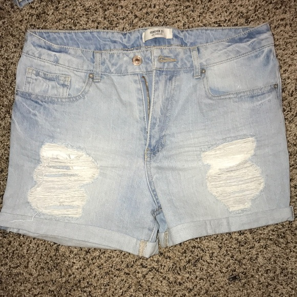 Forever 21 Pants - Forever 21 Denim Shorts